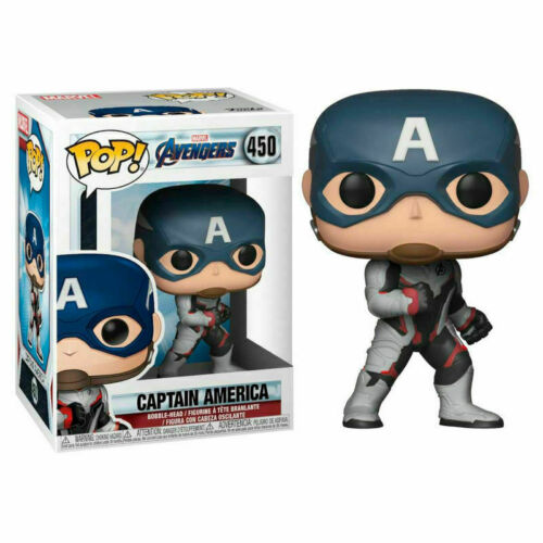 AVENGERS END GAME BRAND NEW UK SELLER CAPTAIN AMERICA #450 FUNKO POP