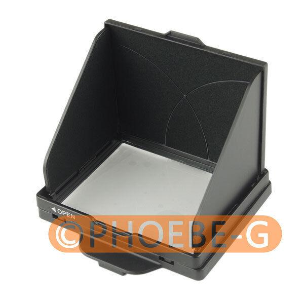 LCD Screen Hood Pop-Up Shade Cover for NIKON D810 D800 D800E