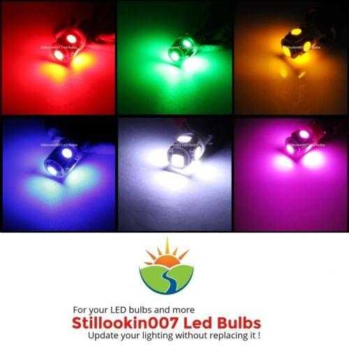 12-Paysage ampoules à DEL Multicolores 5LED T5 chemin jardin /& paysage d/'éclairage