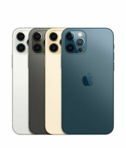 Apple iPhone 12 Pro 128 GB - Graphit-Silber-Gold-Pazifikblau -WOW Deal des Tages