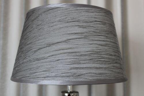 Lampe schwarz silber Nachttischlampe Leuchte Keramik Tischlampe Tischleuchte 42