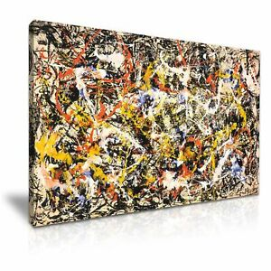Jackson-Pollock-Abstract-Modern-Canvas-Wall-Art-Home-Office-Deco-9-sizes