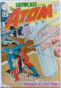 SHOWCASE #36 3RD ATOM VG/FN 5.0 DC 2/1962