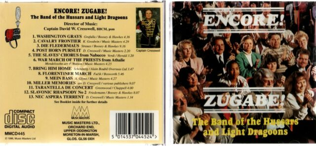 The Band Of The Hussars & Light Dragoons - Encore Zugabe (CD 1996)