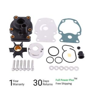 water pump kit for johnson evinrude omc 20 25 30 35 hp outboard boat Trailer Wiring Harness image is loading water pump kit for johnson evinrude omc 20