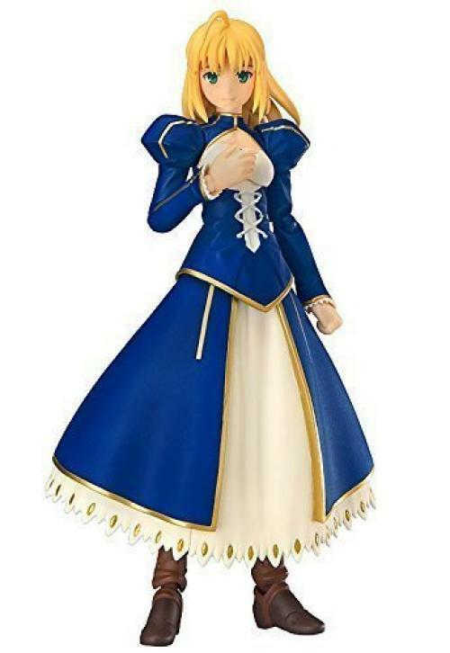 NEW figma EX-025 Fate/stay night Unlimited Blade Works Saber Dress ver. Figure