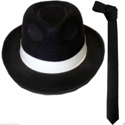 NEW DELUXE MICHAEL JACKSON /& GLOVE GANGSTER RINGMASTER LINCOLN HAT FANCY DRESS