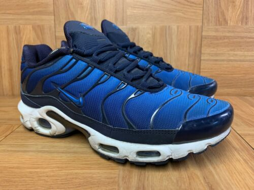 RARE🔥 Nike Air Max Plus TN Obsidian Game Royal Sz
