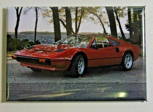 "SUPERBE Magnet Aimant Ferrari 308 GTS /""Magnum/"" Long 78 mm Haut 54 mm Neuf"