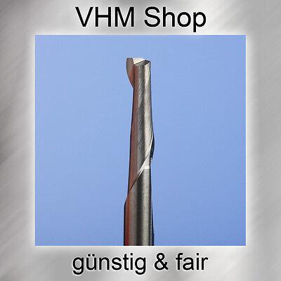 3 Stück NEUE 1 Schneiden VHM Fräser,HM Schaftfräser,Dremel , Durchmesser 1,0mm