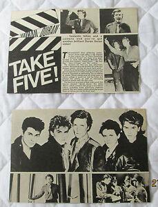 Duran-Duran-Article-cutting-from-magazine-circa-1983