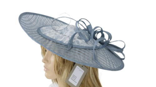John Charles Blue Mother Of the Bride Causal Wedding Formal Hat Style 26222