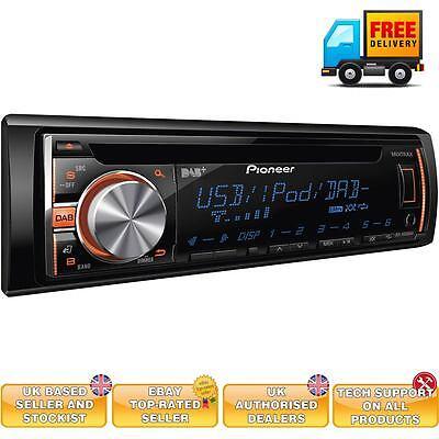 Pioneer DEH-X6600DAB Pioneer DAB Car stereo Digital radio USB iPod iPhone AUX in