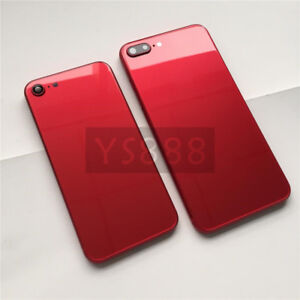 buy online 18bcb 4e25d Details about Red Edition Glass Metal Frame Housing 6s 6s Plus 7 7 Plus to  8 8 Plus Frame
