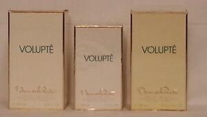 Details about Oscar de la Renta Volupte EDT Spray (1) 50ml SEALED (2)100 ml 75% (3) 100 ml 75%