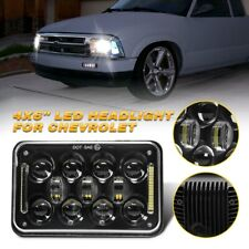 For Chevy S10 1995 1996 1997 4x6 Led Headlight Halo Bulb Sealed Beam Headlamp Fits Mustang