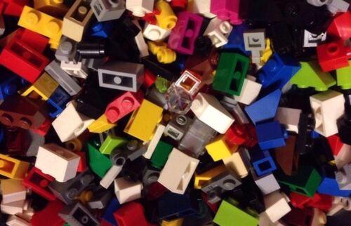 // 500 Random LEGO Small Parts & Pieces ! MIX Colors ! / Grab Bag Lot / 1x1, 1x2