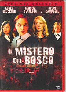 Il-mistero-del-bosco-2006-DVD-RENT-NUOVO-Sigillato