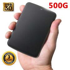 Toshiba Portable External Hard Drive USB 3.0. Video Music Storage 500GB