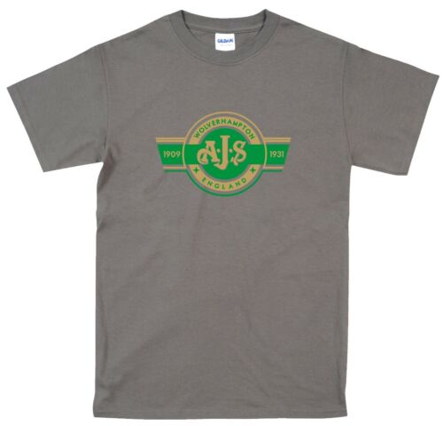 Biker T Shirt AJS BSA Royal Enfield Matchless Classic British Bikes Retro Gift