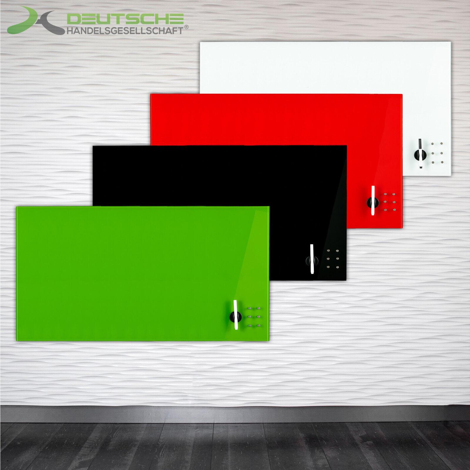 Glas Glasboard Tafel Magnetwand Magnet Memoboard viele Größen Schreibtafel Board
