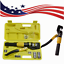 US-10-Ton-Hydraulic-Wire-Battery-Cable-Lug-Terminal-Crimper-Crimping-Tool thumbnail 1