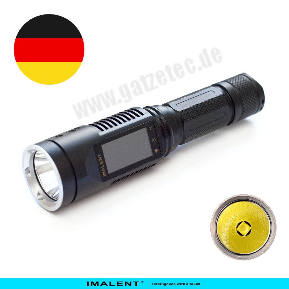 Imalent DD2R LED Taschenlampe CREE XM-L2 1065 Lumen Multitouchdisplay NEU NEU NEU 09c44b
