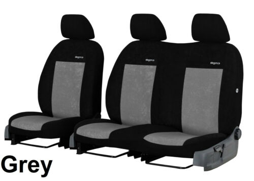 VAUXHALL VIVARO 2009 2010 2011 2012 2013 2014 VELOUR TAILORED FRONT SEAT COVERS