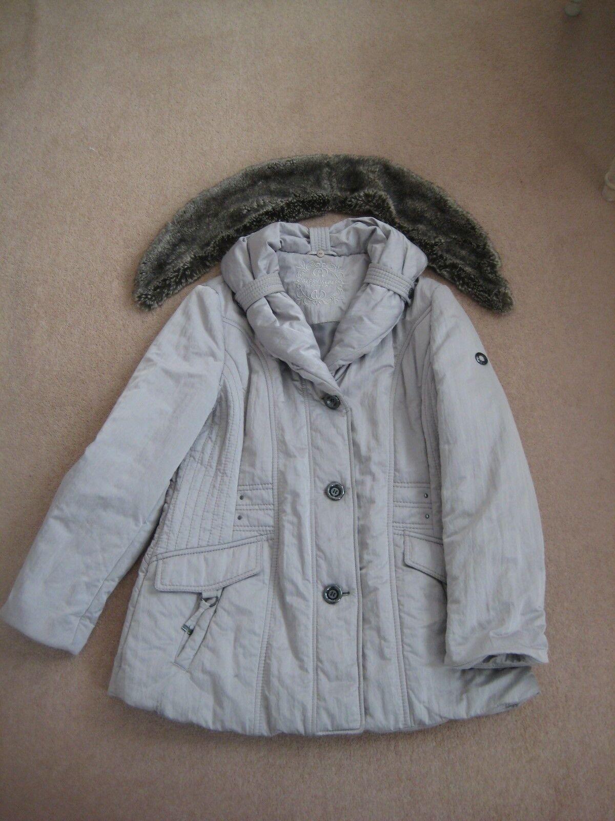 Gerry Weber argent-gris winter coat