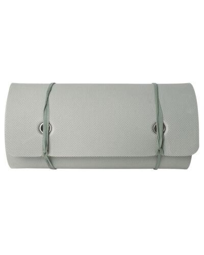 Mil-Tec Holländische Isomatte mit Gurt Grau 180x50cm Iso-Matte Campingmatte