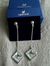 Lovely Swarovski Long Earrings - VGC