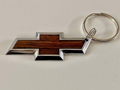 Chevrolet Logo Keychain Handmade Chevy Logo Key Chain Ebay