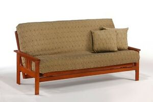 Image Is Loading Futon Frame Solid Wood Monterey Sofa Bed