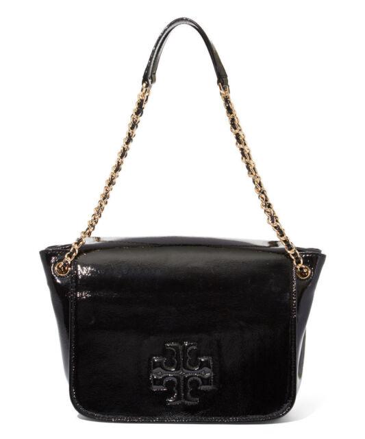 5d3737436aa Tory Burch Charlie Small Flap Shoulder Bag Color Black   34044 001 ...