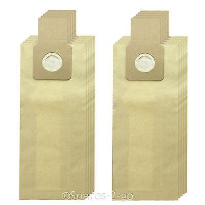 10 x Panasonic Sacchetti Per Aspirapolvere Hoover Doppio Strato Bag Z2275 U2R