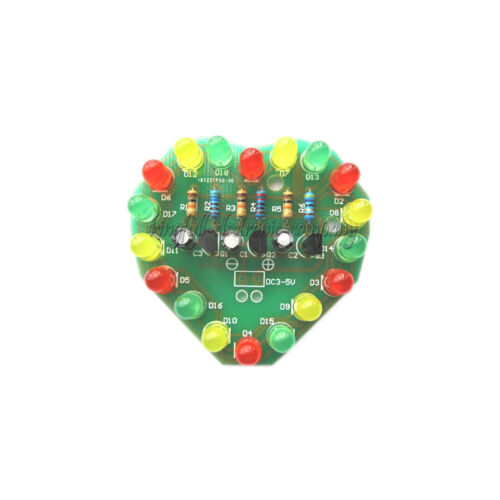 1Pcs LED Cycle Lamp Suite LED Electronic Production DIY Kits New