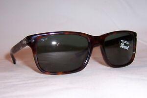 617f2bdd1dd NEW Persol Sunglasses 3048 S PO HAVANA GREEN 24 31 58mm AUTHENTIC ...
