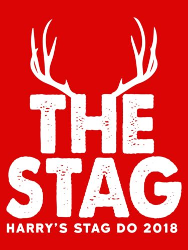 The Stag Personalised Party Vest Top