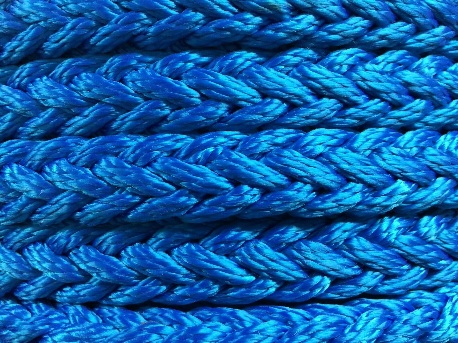 8 Strand H.T.Polyester Mooring Anchoring Multiplait Octoplait Yacht Rope