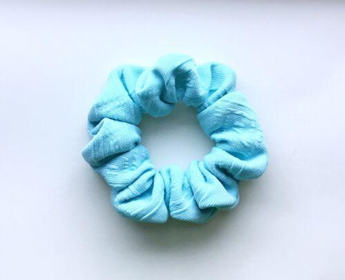 Good Quality Blue Colour Fabric Hair Scrunchies