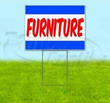 Furniture 18x24 Yard Sign With Stake Corrugated Bandit Usa Business