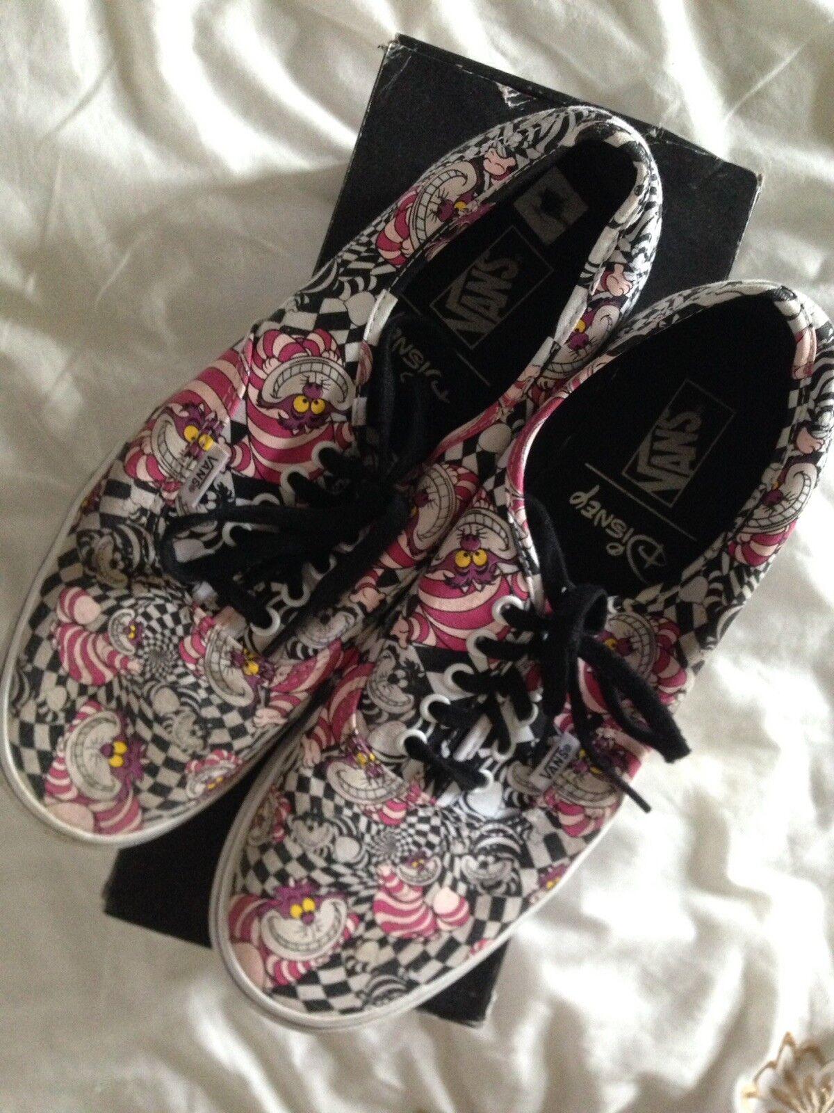 Disney Alice en el país de las Maravillas Cheshire Cheshire Cheshire Cat Vans zapatos talla 10 de hombre mujer adulto 691f6d