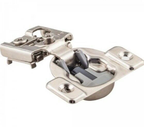 16 Pieces - 1 2  Overlay 105 Degree Dura-Close® Soft-close 45mm Cabinet Hinges