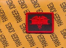 US Army EFMB Expert Field Medical Badge LEGACY VETERANS Motorcycle patch