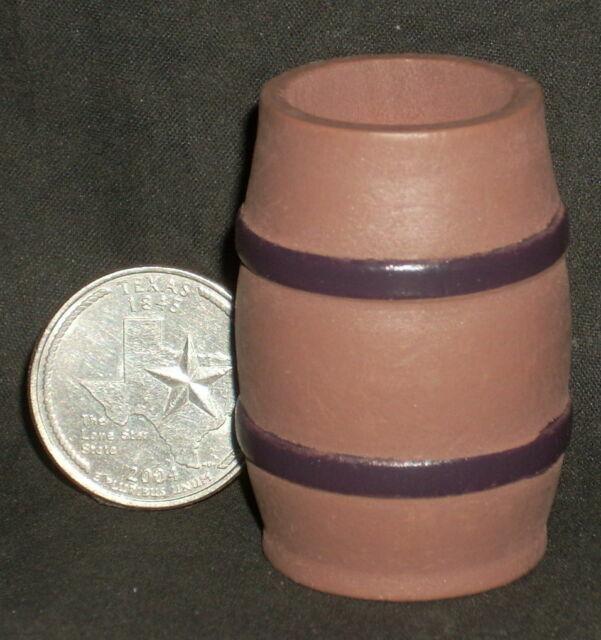 Dollhouse Miniature SMALL Rain Barrel UNPAINTED 1:12 T Store Rodeo Clown BC3904