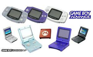 Nintendo Game Boy Advance & SP (versch. Farben / Edition) Handheld-Spiel-Konsole