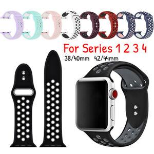 Ersatz-Silikon-Sport-Band-38mm-42mm-fuer-Apple-Watch-Series-1-2-3-4-Mode-Unisex
