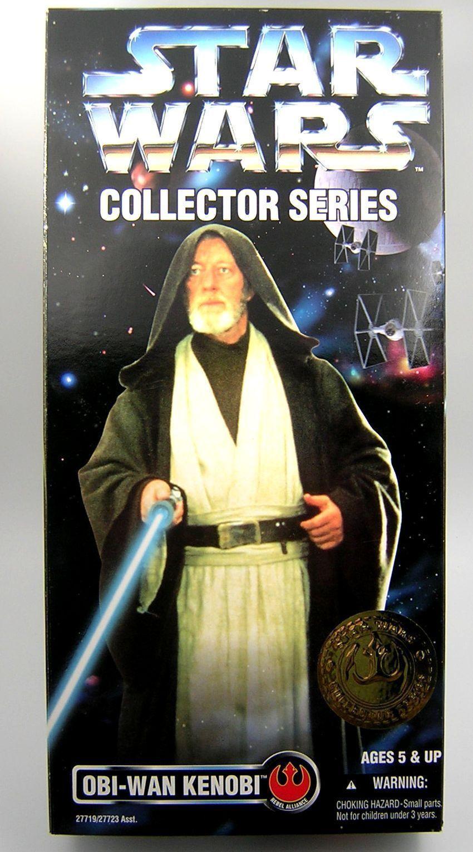 Star Wars Potf 2 12  pulgadas Serie para Coleccionistas Obi Wan Kenobi MIB