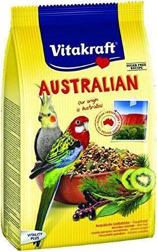 Vitakraft Alimento Loro australiana 750g-mezcla de semillas alimento Pájaro cacatúa lovebird