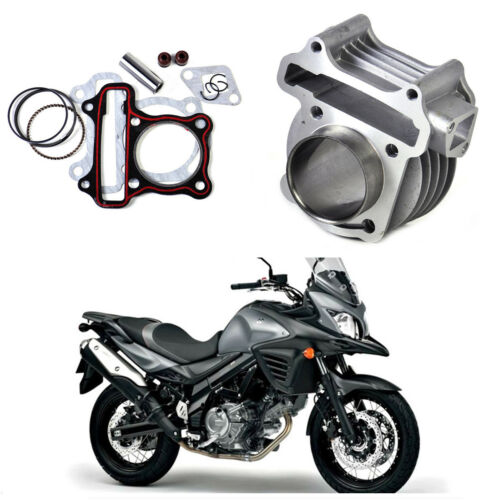 High Quality New 58.5mm Big Bore Cylinder Kit For GY6 125CC 152QMI Scooter